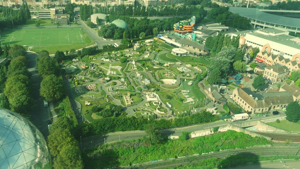 Atomium Bruselas: Vistas de Europa en miniatura