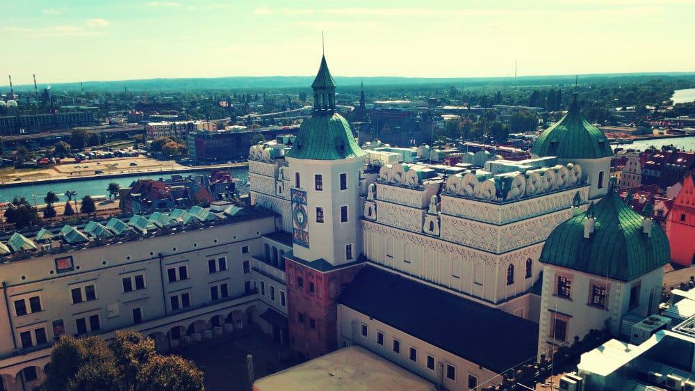 Castillo de los Duques de Pomerania desde la torre