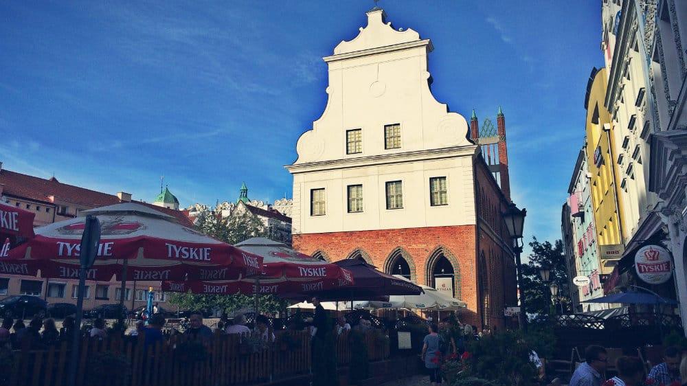Plaza del Mercado de Szczecin