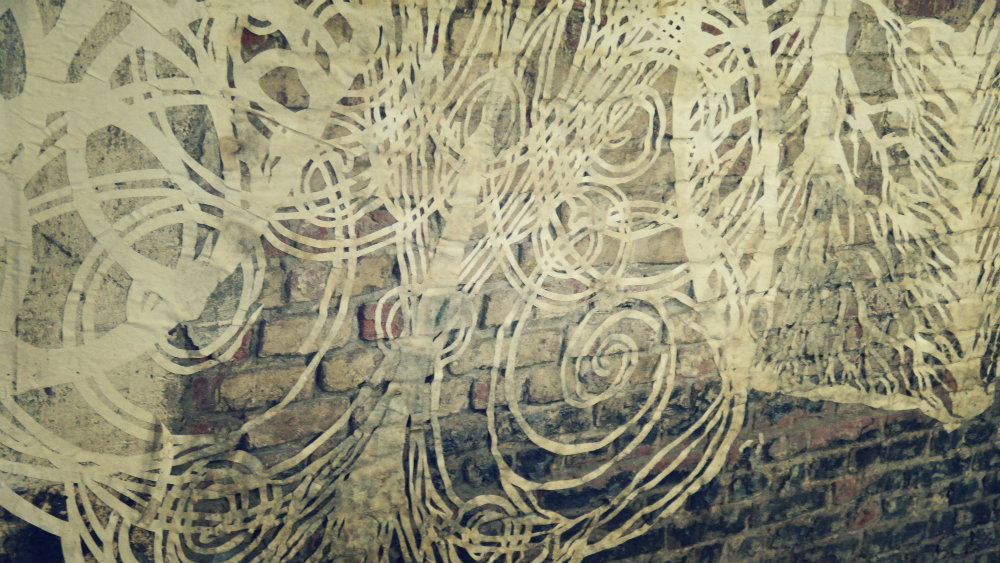 Obra de Swoon en el MIMA de Bruselas - Close-up