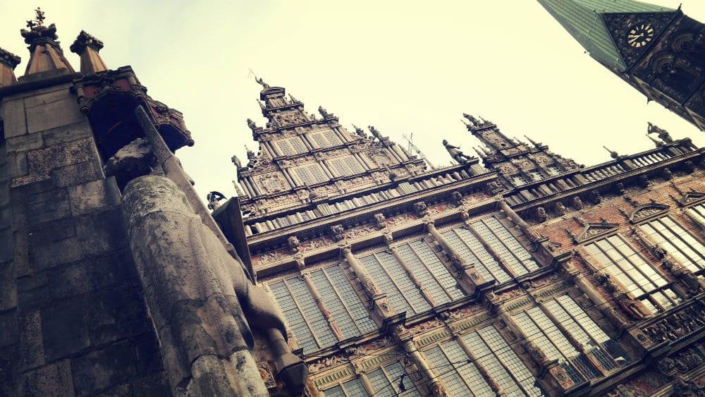 Ayuntamiento de Bremen y estatua de Roland