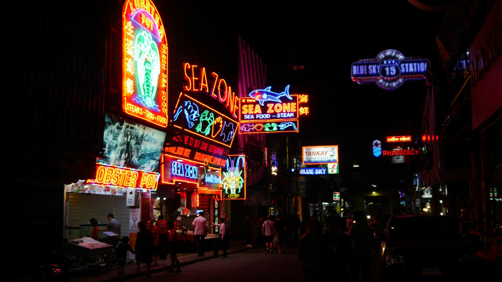 Neones de Pattaya