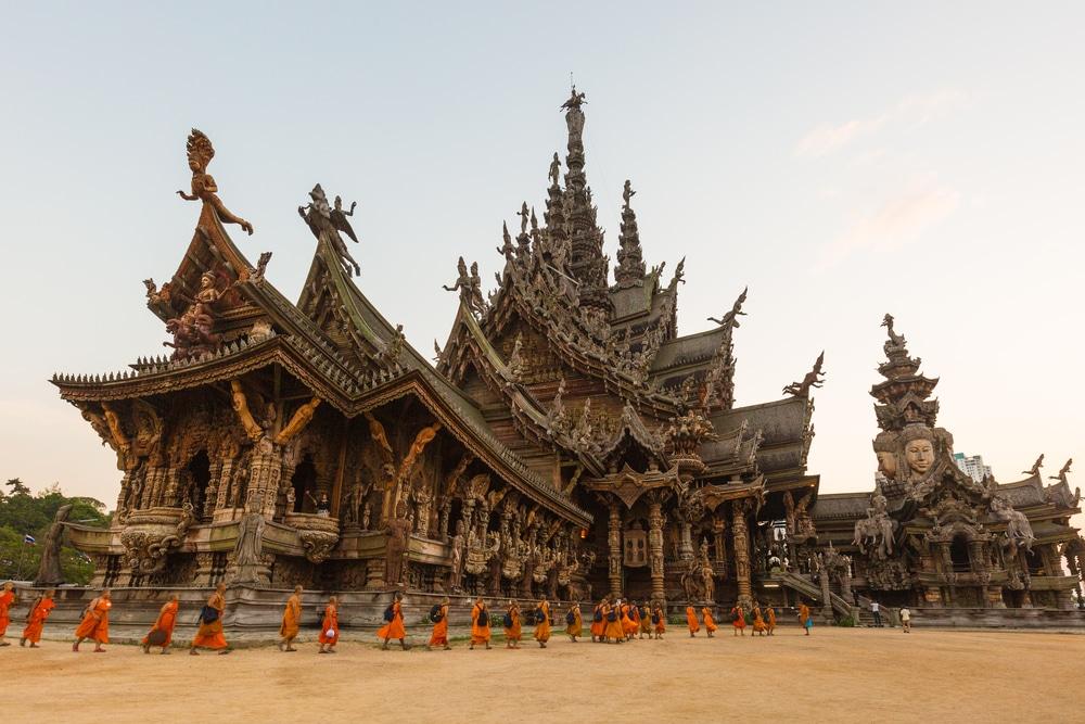 Santuario de la Verdad - Pattaya, Tailandia