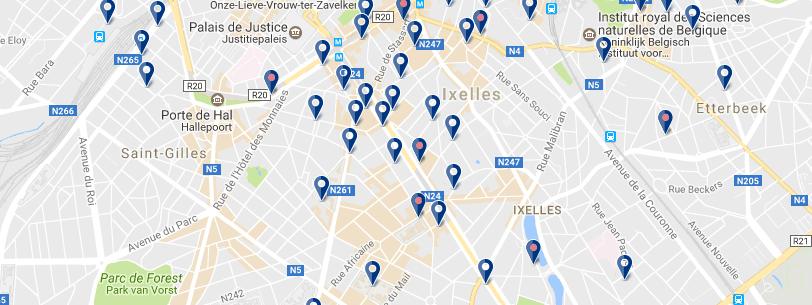 Alojamiento en Ixelles - Clica para ampliar