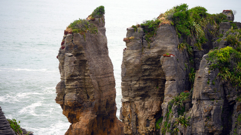Pancake Rocks - South Island