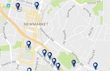 Alojamiento en Newmarket - Auckland - haz clic para ver todos los hoteles