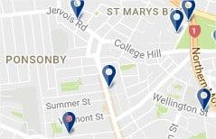 Alojarse en Ponsonby - haz clic para ver todos los hoteles