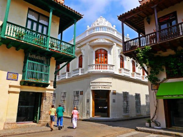Dónde dormir en Cartagena - Ciudad Amurallada