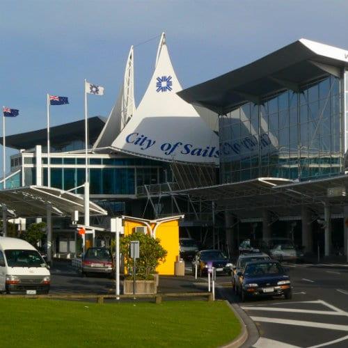 Dormir en el aeropuerto de Auckland