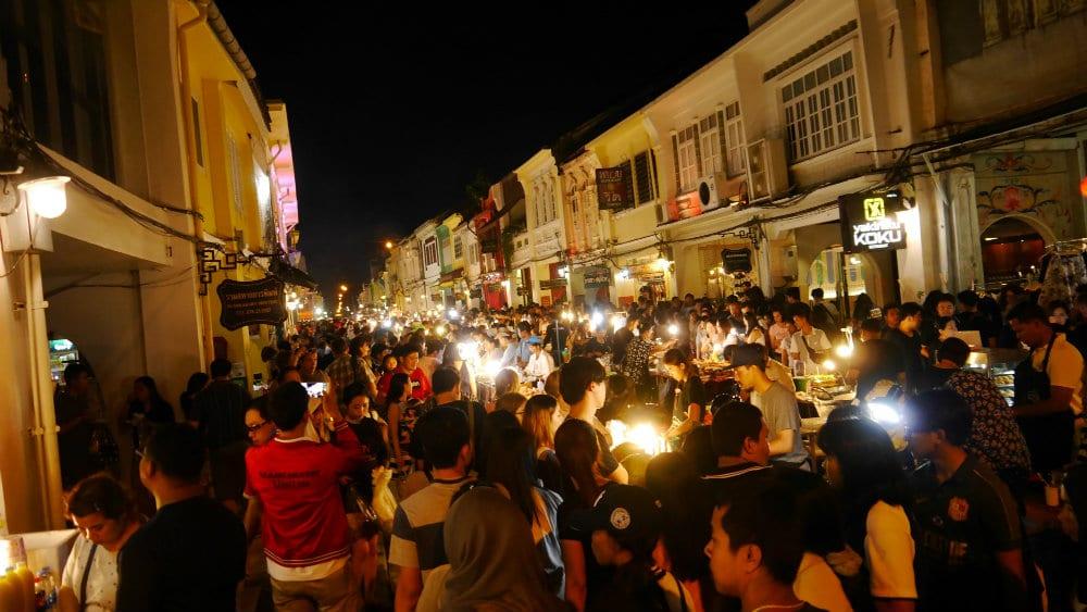 Mercado Nocturno de Phuket Town