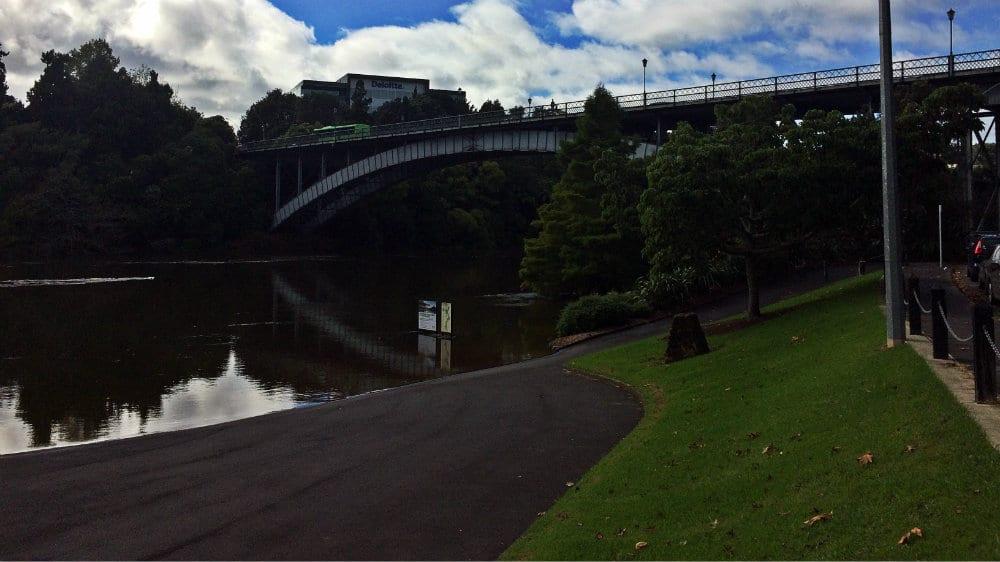 Paseo fluvial Hamilton
