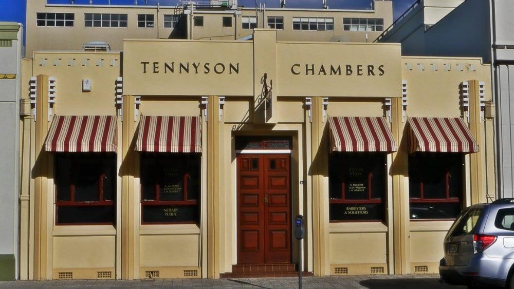 Art Decó en Napier, Nueva Zelanda