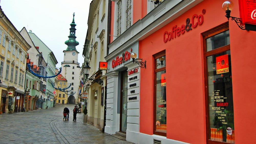 Where to stay in Bratislava - Staré Mesto