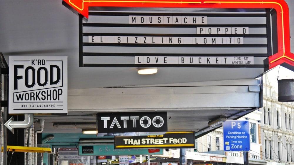 Karangahape Road, en corazón alternativo de Auckland