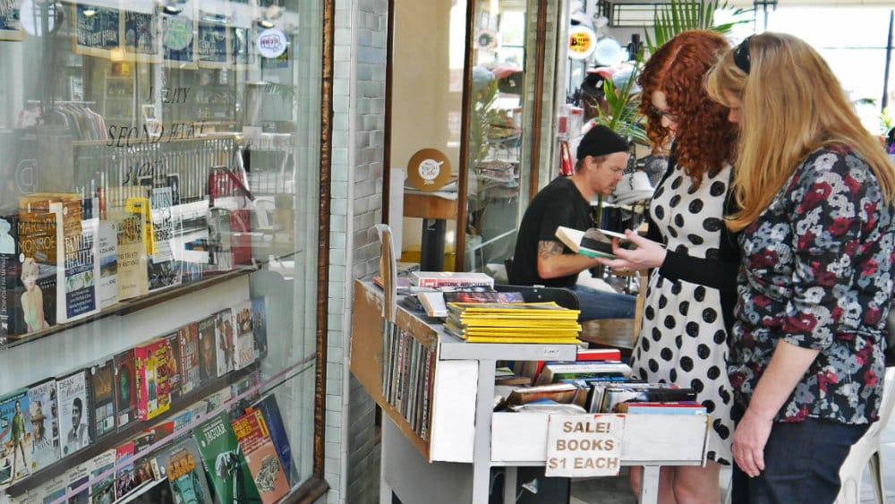 Libros de segunda mano en Saint Kevins Arcade