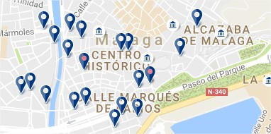 Malaga - Centre - Click to see all hotels on a map