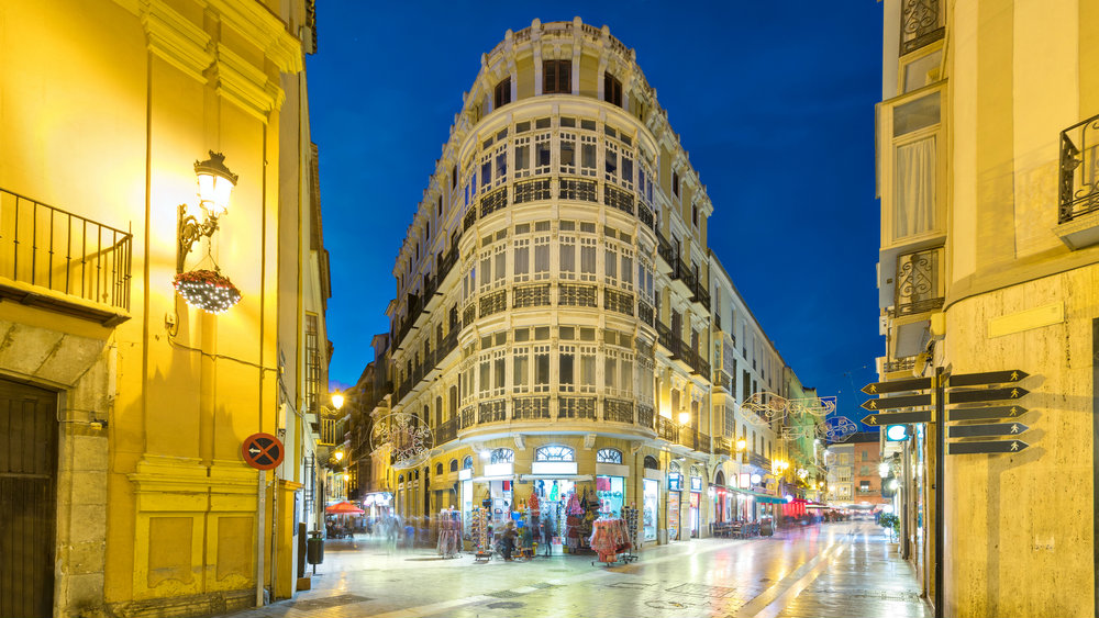 Best areas to stay in Malaga - Calle Larios