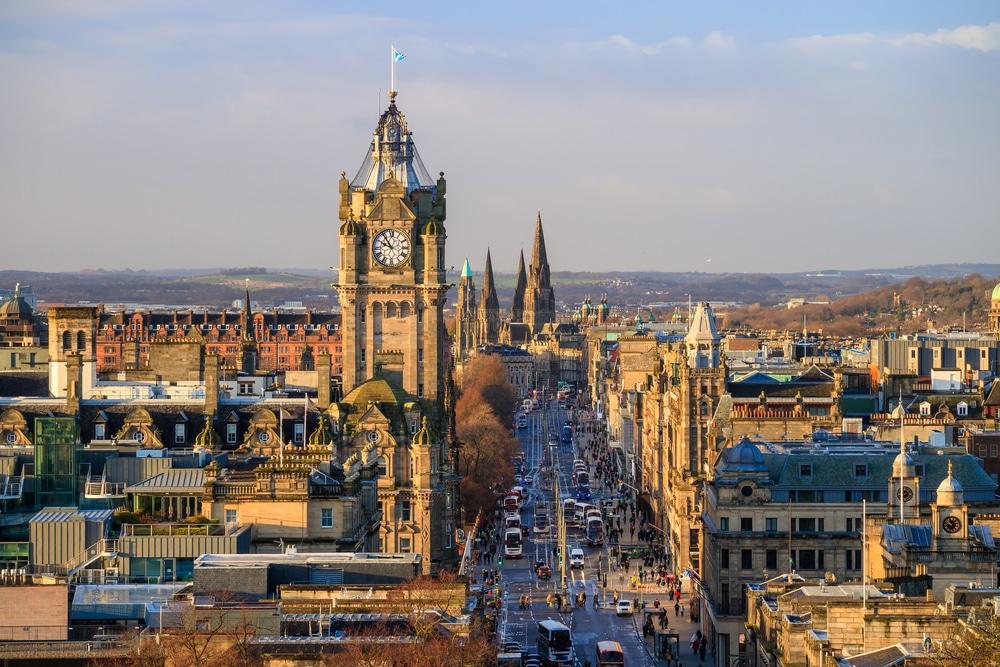 Old Town - Mejores zonas para dormir en Edimburgo