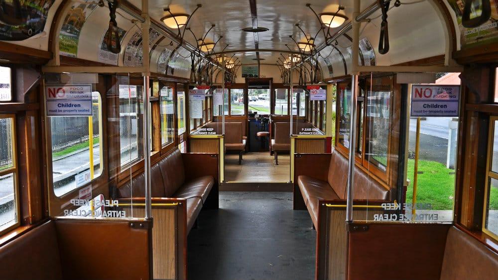 Tranvía - Interior