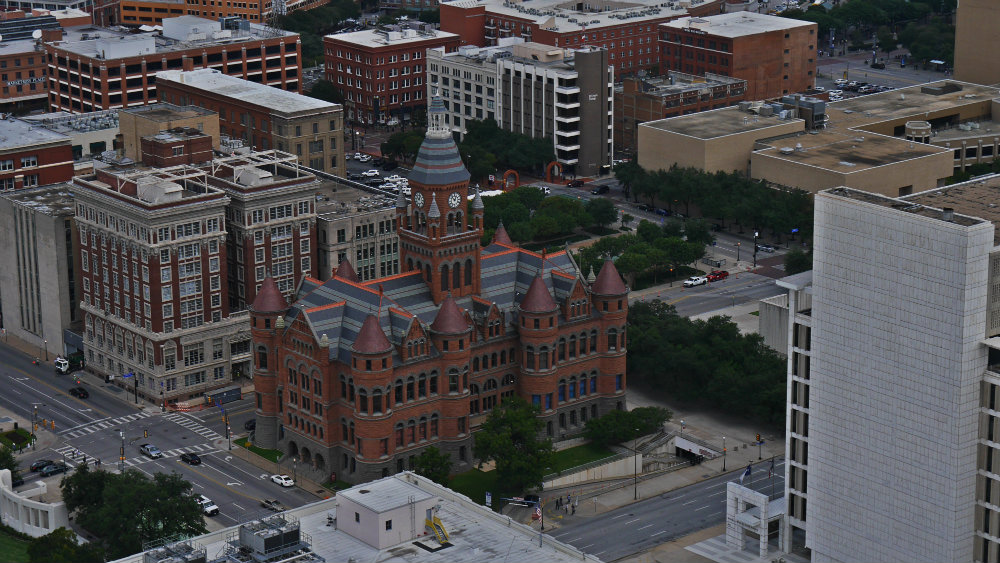 El Old Red Museum desde la Reunion Tower