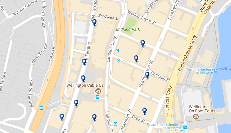 Wellington Lambton Quay - Click to see all hotels in this area on a map