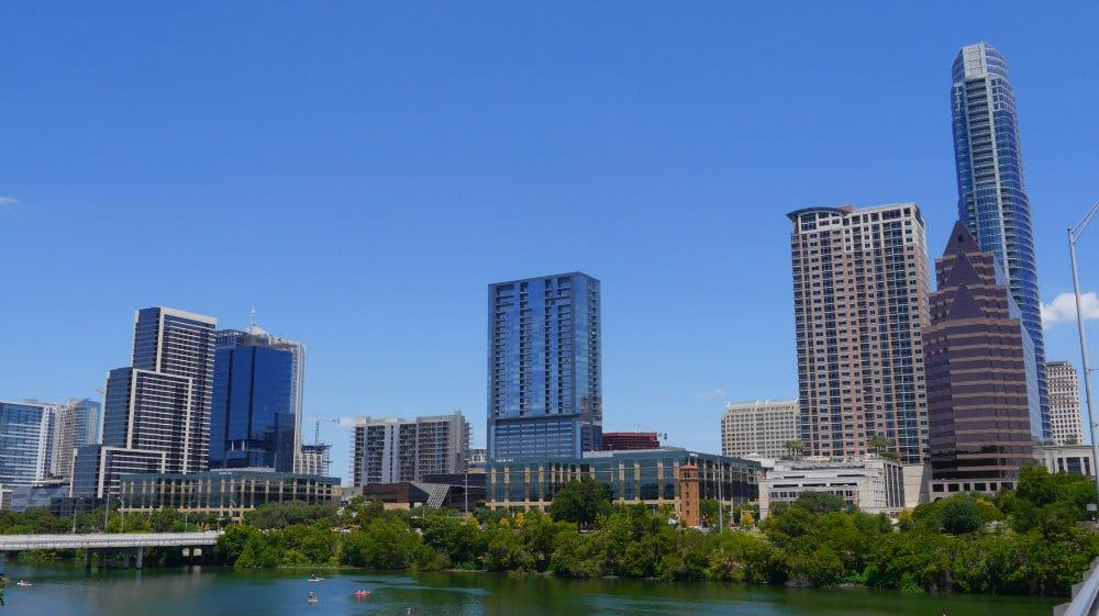 Austin - Skyline desde South Congress Avenue