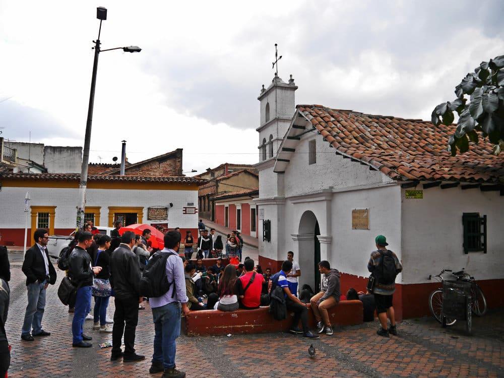 Chorro de Quevedo - La Candelaria, Bogotá
