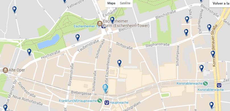 Francoforte - Innenstadt - Clicca qui per vedere tutti gli hotel su una mappa