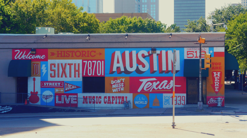 Qué ver en Austin - Historic Sixth Mural