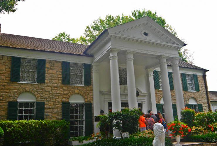 Visita a Graceland - La mansión de Elvis Presley en Memphis