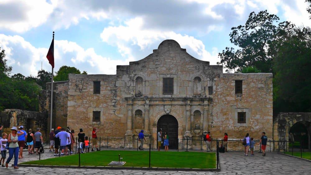 Visitar el Álamo en San Antonio, Texas