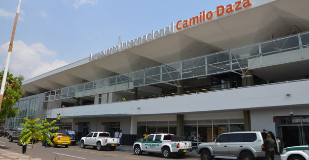Stay around the airport in Cúcuta