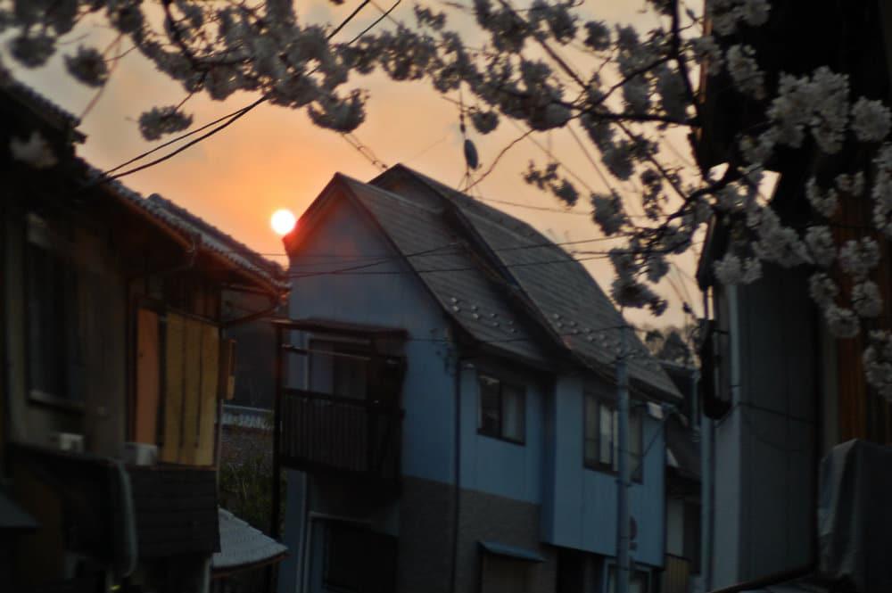 Atardecer en Gion