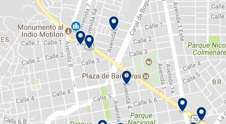 Cúcuta - Bus Terminal - Click to see all hotels on a map