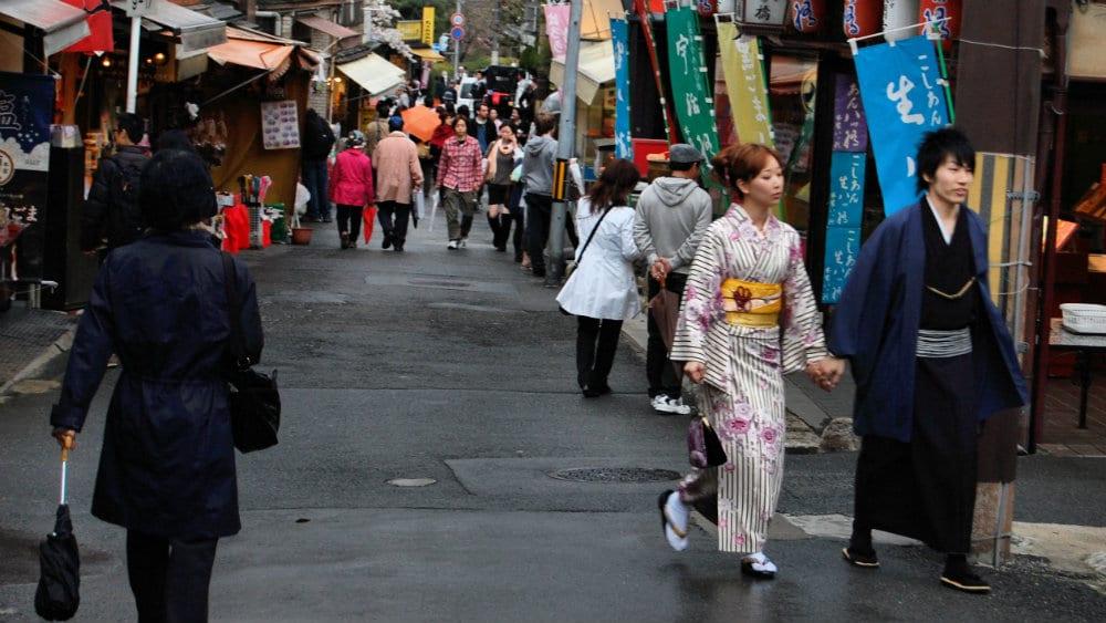 Calles de Kioto - Barrio tradicional