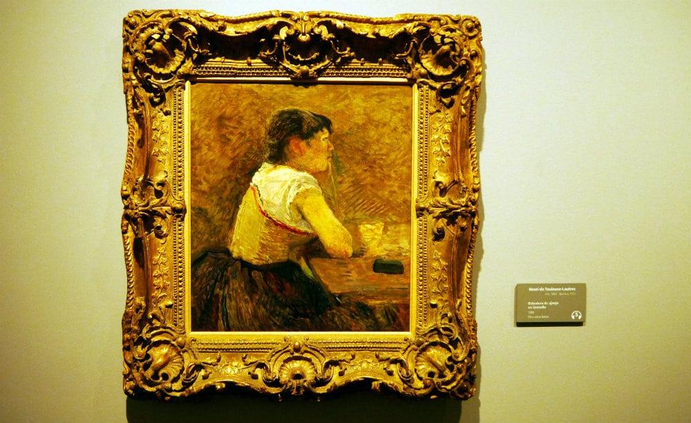 Henri de Toulouse-Lautrec - Bebedora de ajenjo en Grenelle