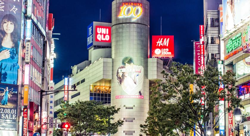 Best districts to stay in Tokyo - Shibuya
