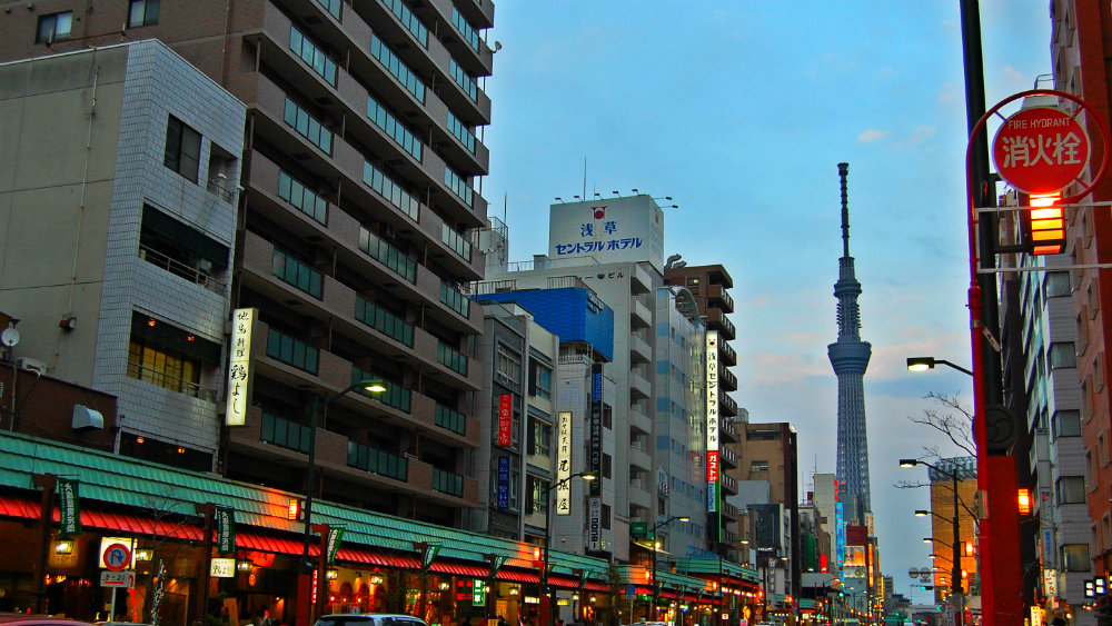 Best area to stay in Tokyo - Sumida