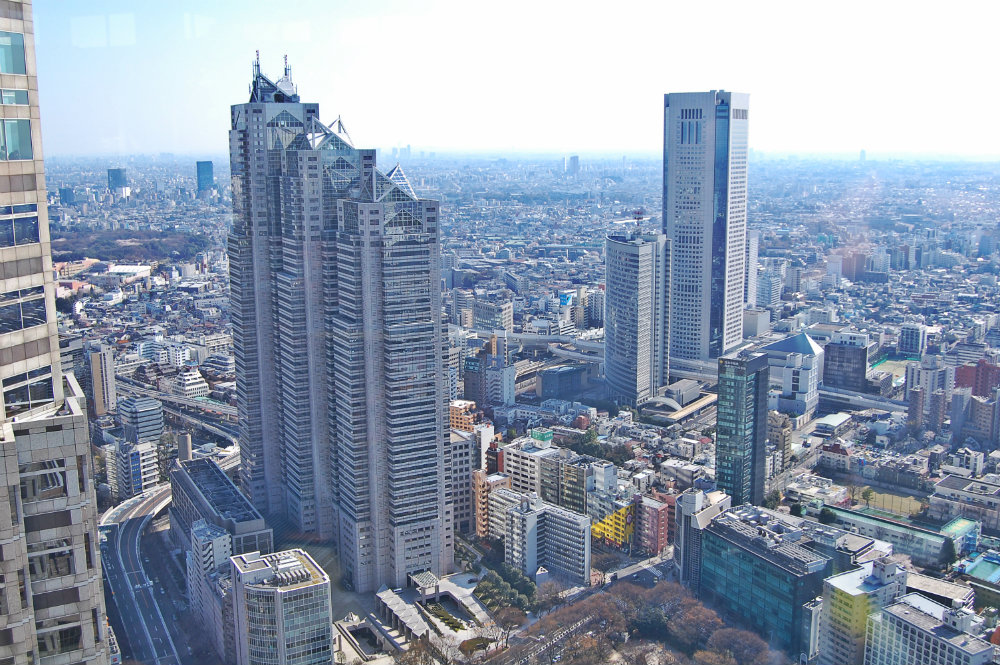 Best areas to stay in Tokyo - Shinjuku