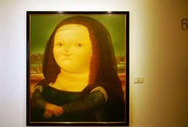 Monalisa de Botero - Museo Botero de Bogotá