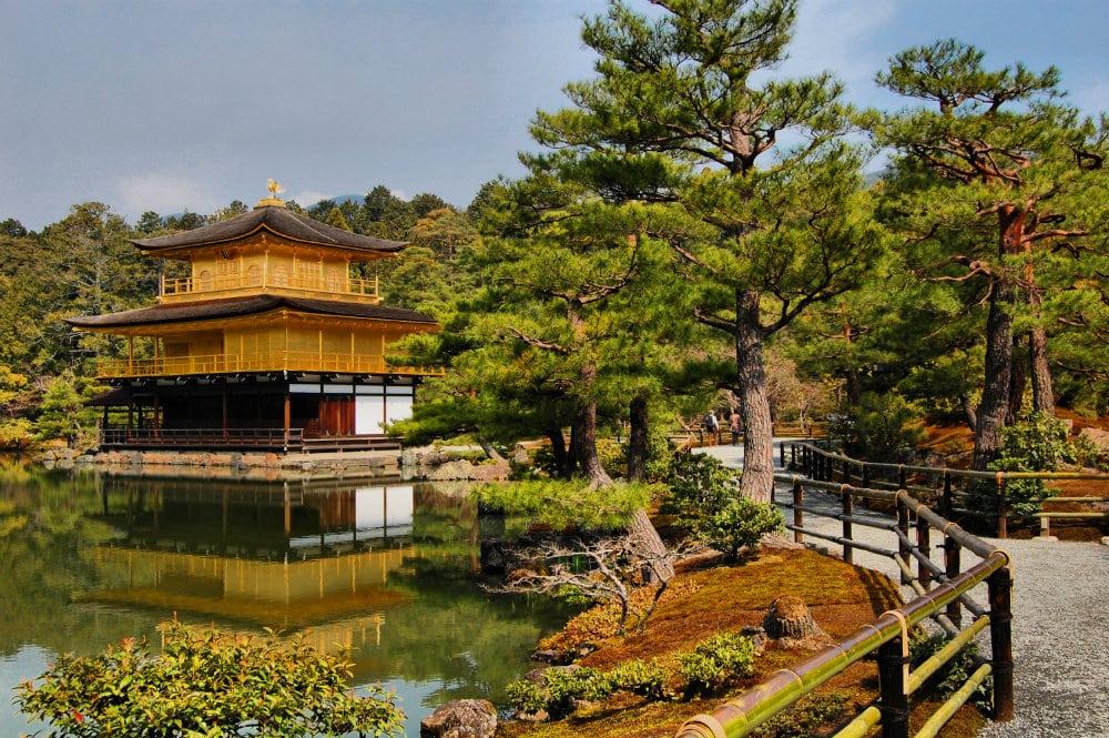 Qué ver en Kioto - Golden Pavilion