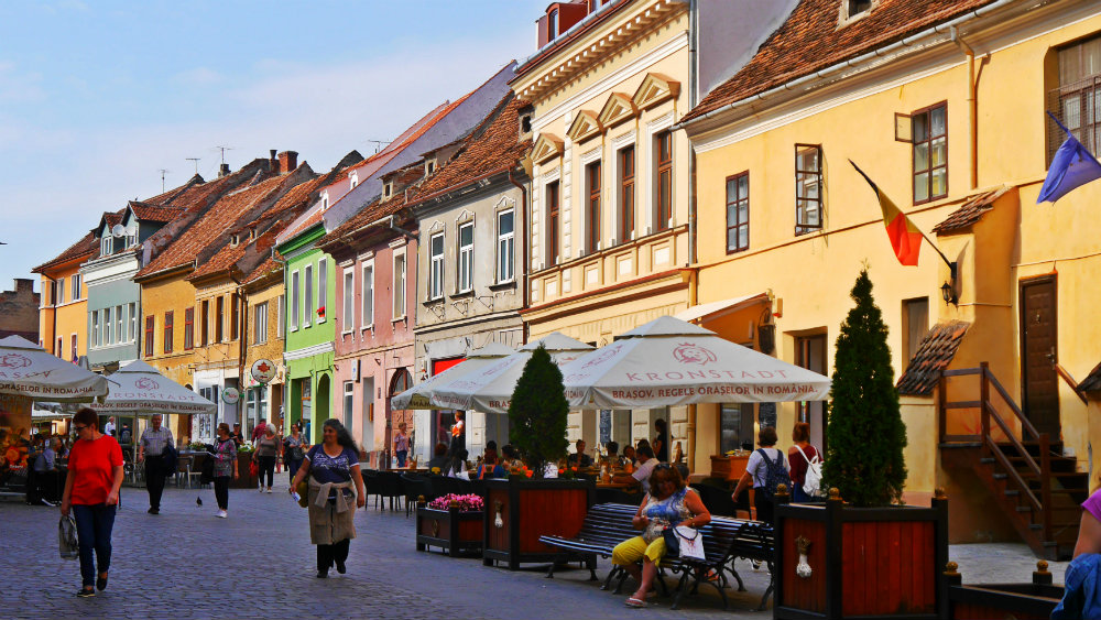 Strada Republicii - Qué ver en Brasov