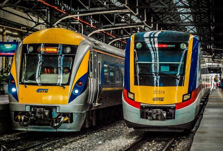 Viajar en tren en Malasia