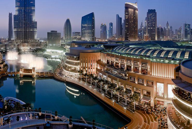 Centros comerciales de Dubai - Dubai Mallº