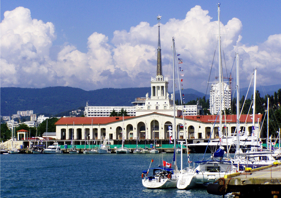 Best areas to stay in Sochi - Port