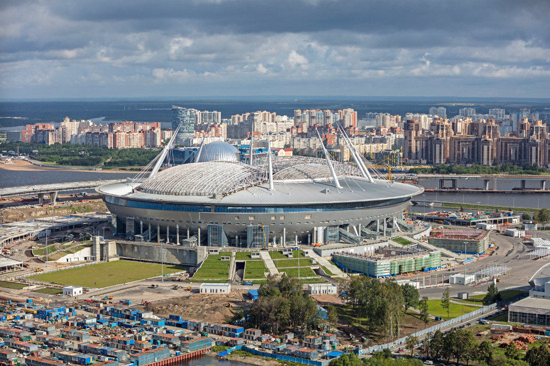 Where to stay in Saint Petersburg during the World Cup - Saint Petersburg Stadium