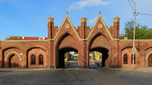 Best areas to stay in Kaliningrad, Russia - Around Brandenburg Gate