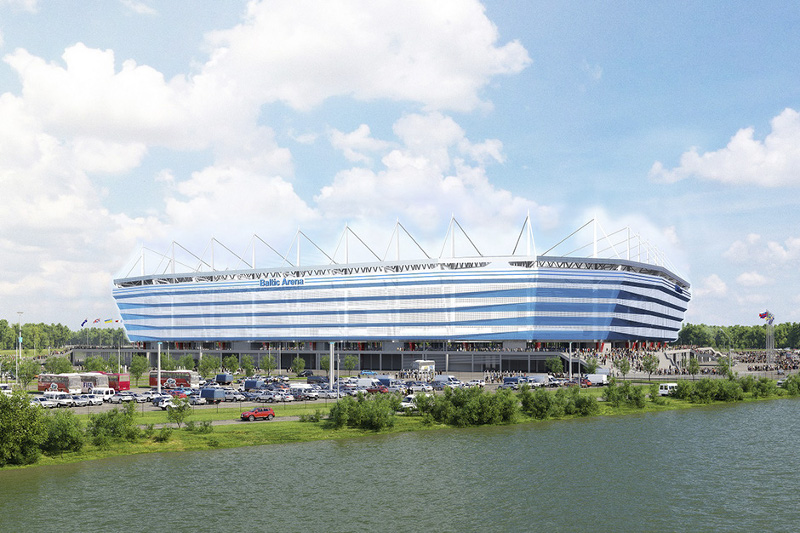 Best area to stay in Kaliningrad during the World Cup - Kaliningrad Stadium