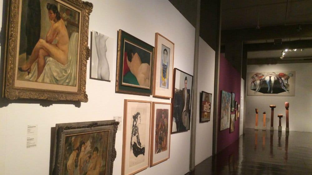 Exposición de arte contemporáneo de la Galería de Arte Nacional de Caracas