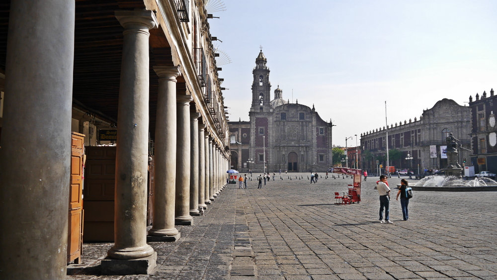 Where to stay in Mexico City - Centro Histórico